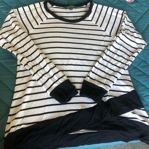 Market & Spruce Knit top. Size Med.